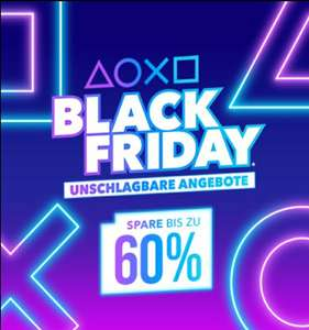 PlayStation Store - Black Friday Deals