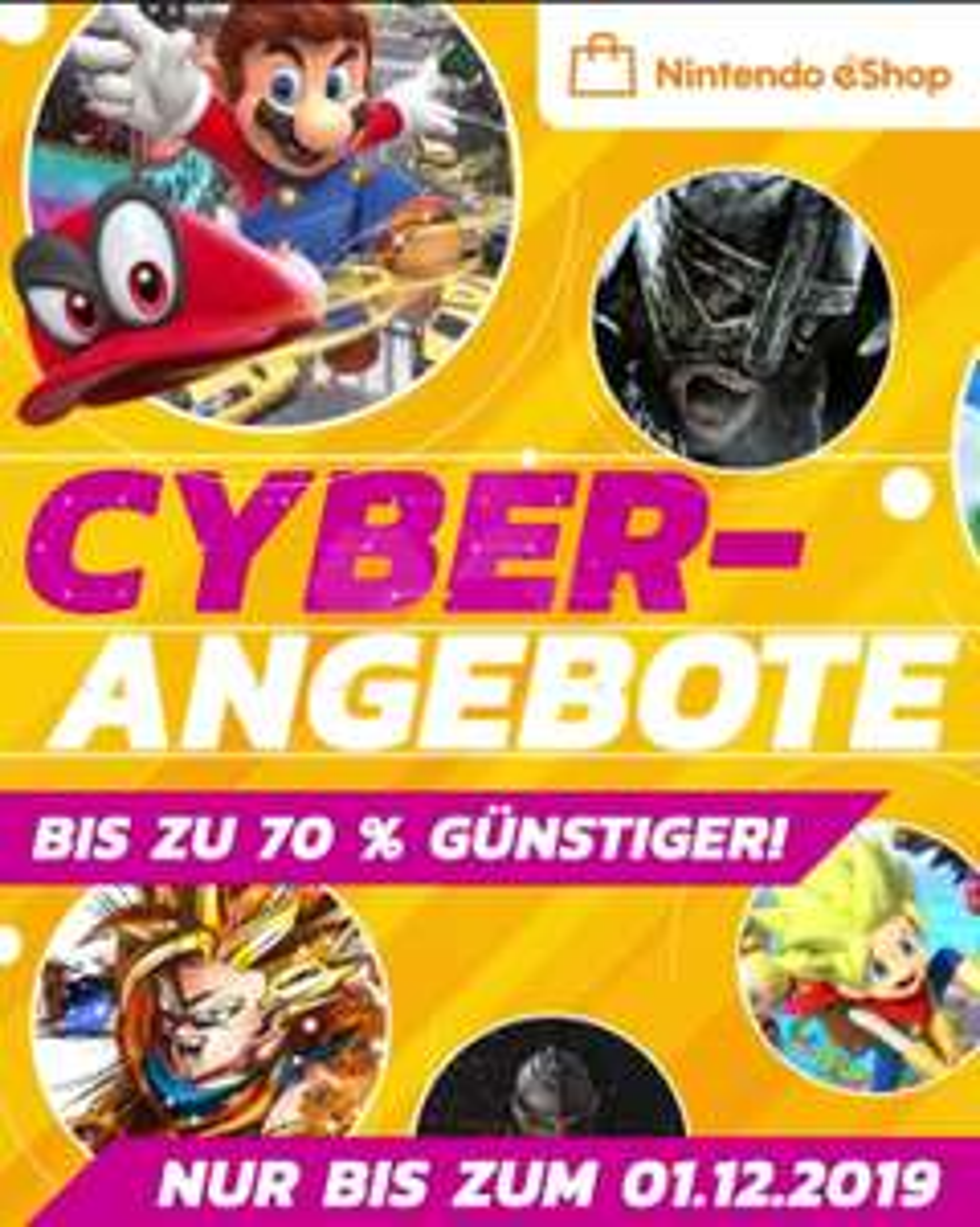 Nintendo eShop - Cyber-Angebote