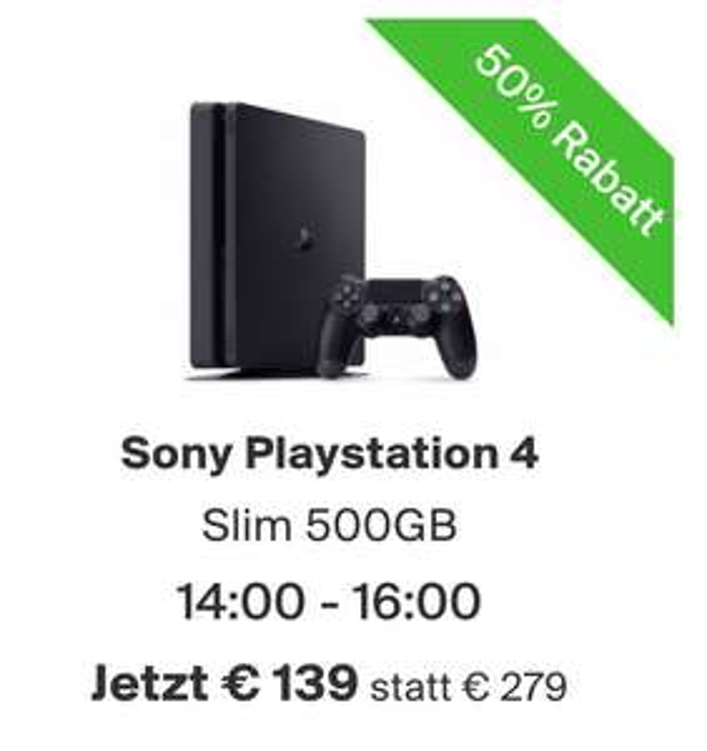 Sony Playstation 4 500hb inkl. Kontroller