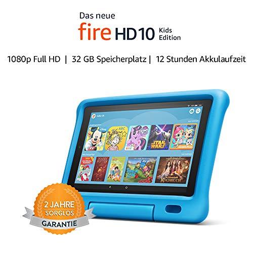 Fire HD 10 Kids Edition-Tablet | 10,1 Zoll, 1080p Full HD-Display, 32 GB, 2019