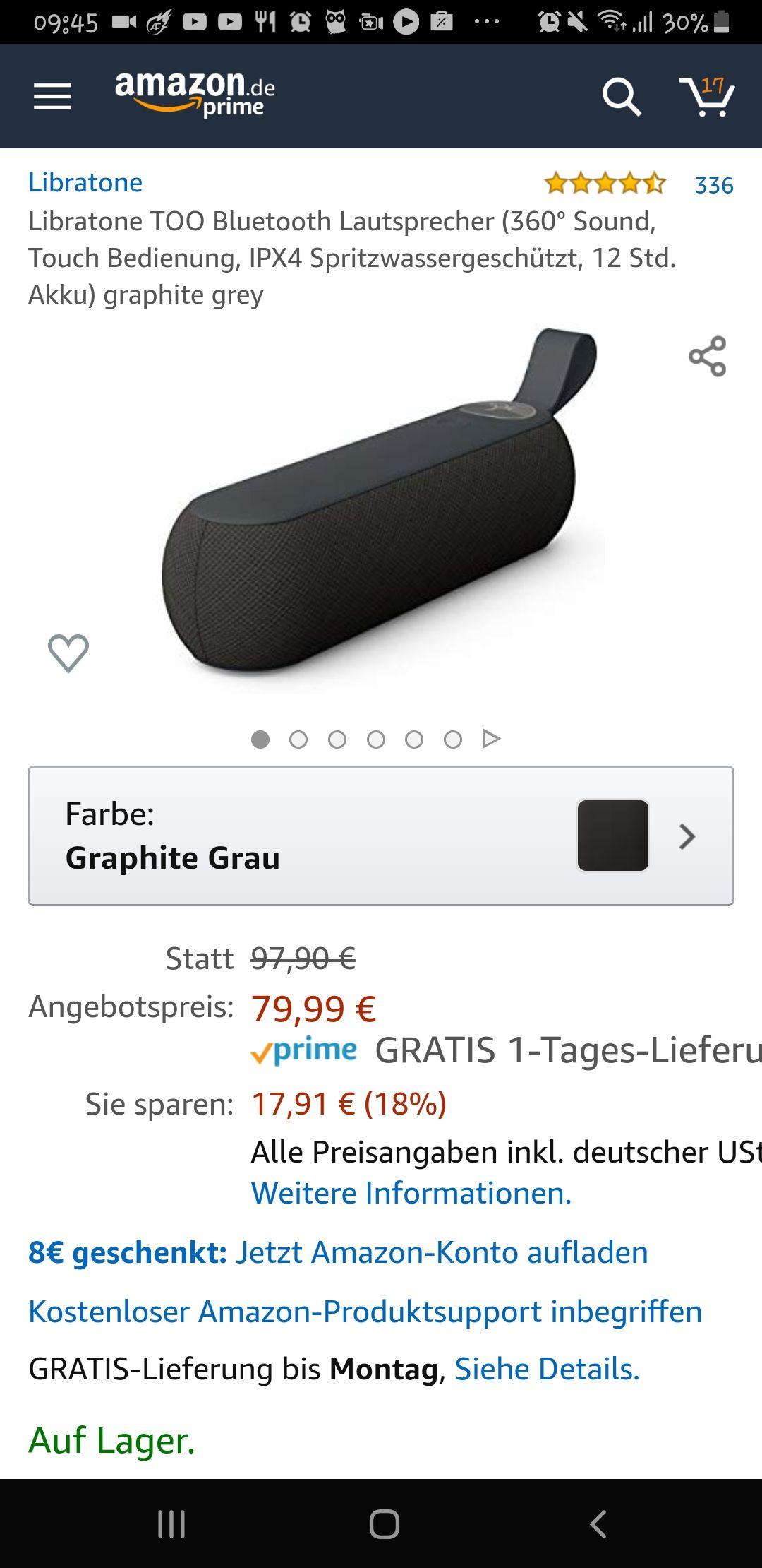 Bluetooth Lautsprecher Libratone