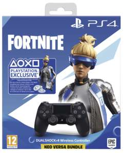 Sony DualShock 4 2.0 Controller wireless schwarz - Fortnite: Neo Versa Bundle