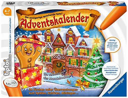 Ravensburger tiptoi Spiel: Adventskalender - Mandelmann