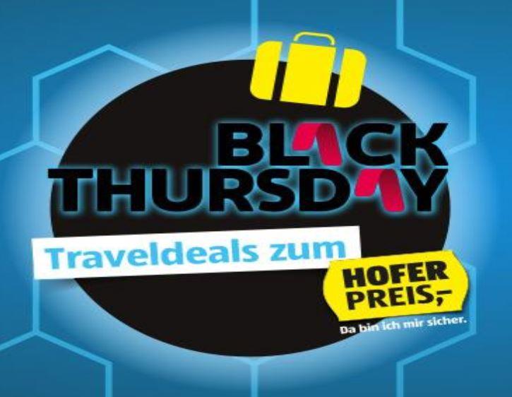 Hofer-Reisen Black Thursday Angebote