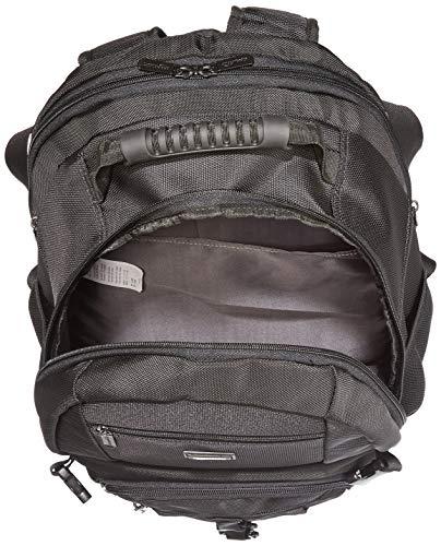AmazonBasics NC1504159R1 Explorer Laptop-Rucksack, für Laptops mit bis zu 38 cm (15 Zoll), Schwarz