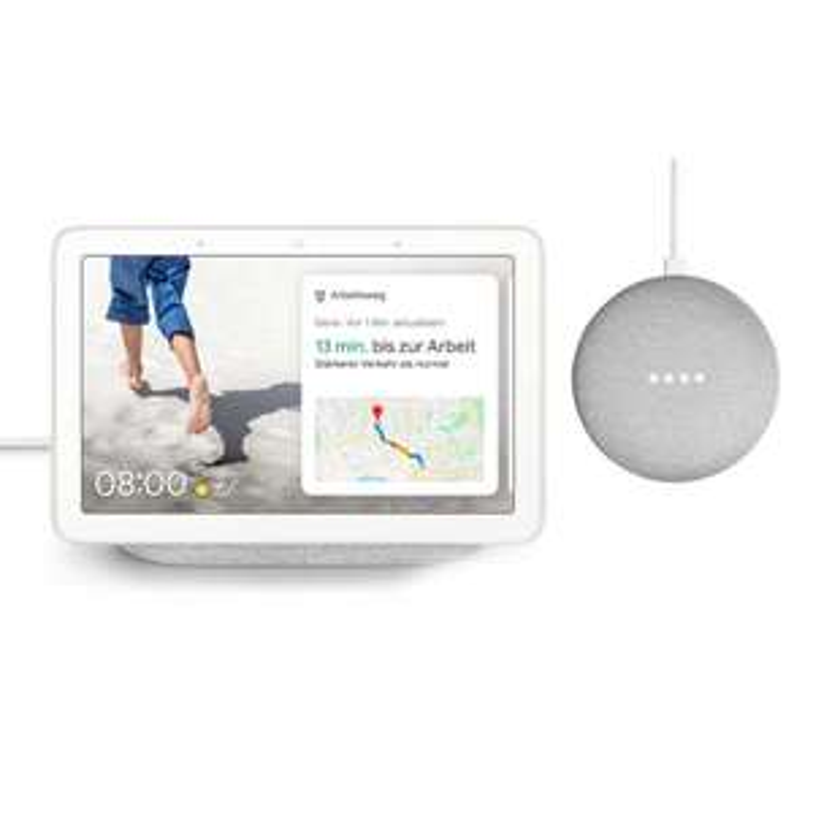 Google Nest Hub + gratis Google Home Mini (Tink)