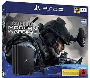 PlayStation 4 Pro (1TB) - inkl. CoD Modern Warfare