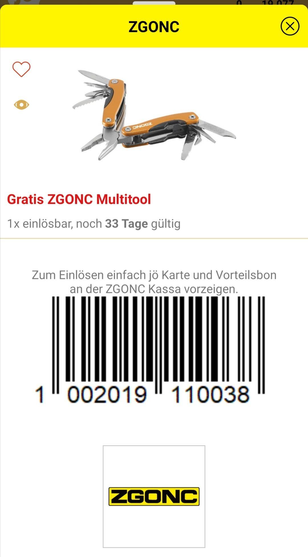 Gratis ZGONC Multitool