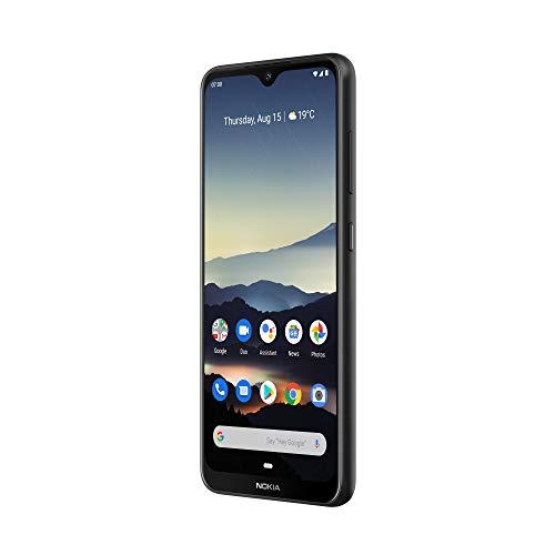 Android One: Nokia 7.2 Smartphone - Deutsche Ware (16cm (6,3 Zoll), 128GB Interner Speicher, 6GB RAM, Dual-SIM, LTE) Charcoal