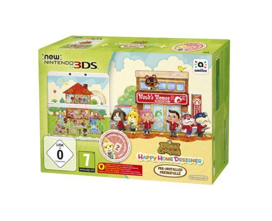 [Gamestop] New 3DS (!) Konsole inkl. Animal Crossing Happy Home Designer + Zierblende