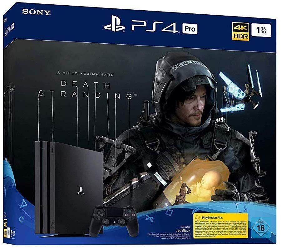 PS4 Pro 1TB mit Death Stranding