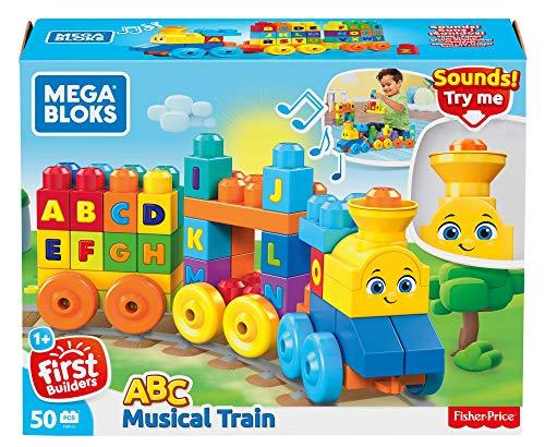 Amazon - Mega Bloks FWK22 ABC Musikzug mit Geräuschen, 50 Teile, Multicolour 7,97 Euro