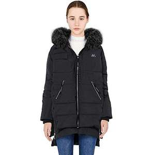 Amazon - Damen Daunenjacke Lange Warme Winterjacke Leichter Wintermantel mit Kapuze für 53,99 Euro
