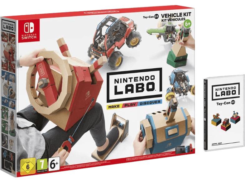 [MM & Saturn] Nintendo Labo: Toy-Con 03 Fahrzeugset Nintendo Switch