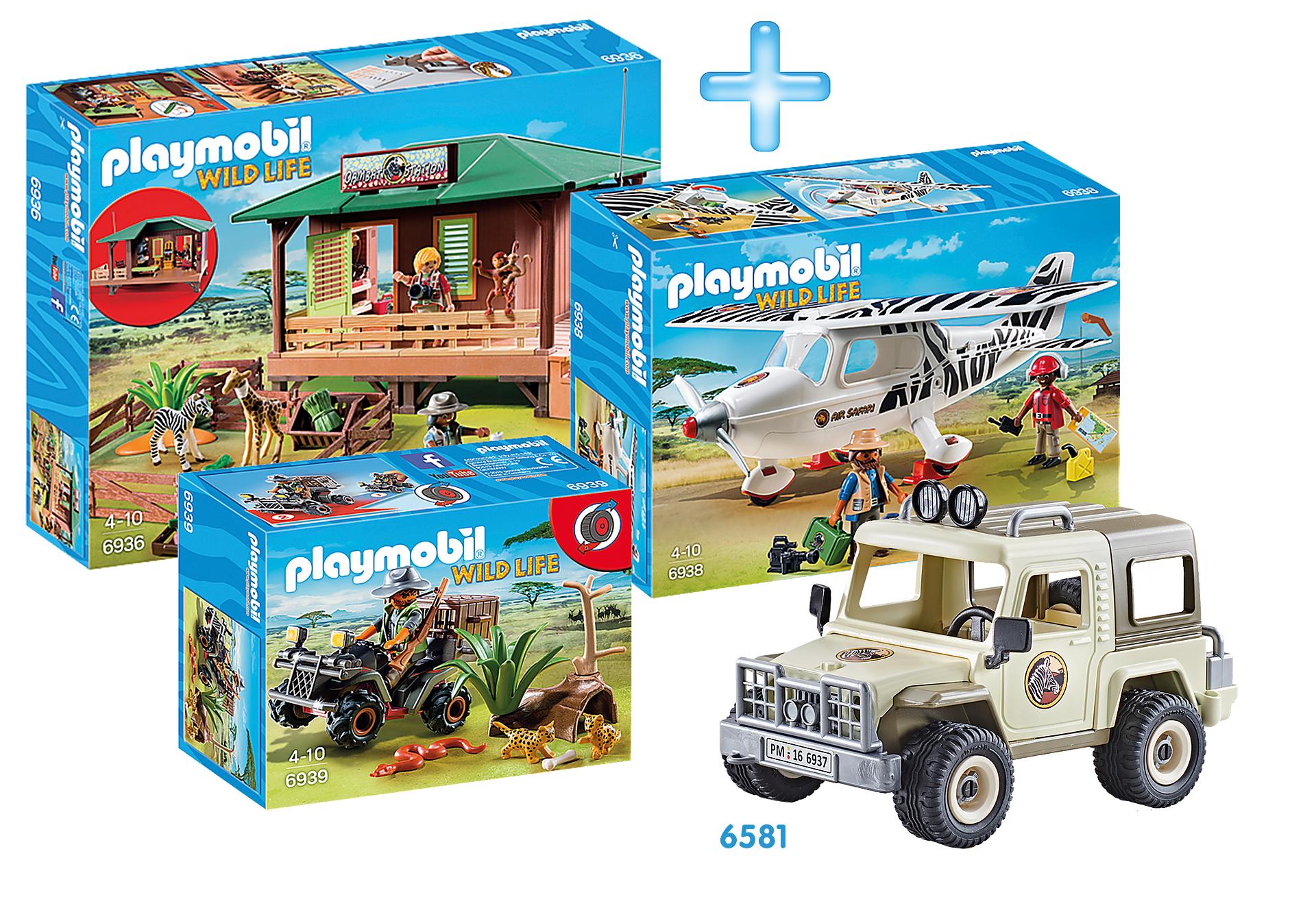 Playmobil Rangerstation Bundle