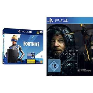 PlayStation 4 Pro (1TB) + Fortnite Neo Versa + Death Stranding