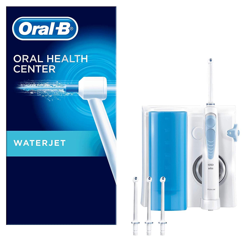 Blitzangebot Oral-B Waterjet Reinigungssystem, für eine gründliche Reinigung und Massage des Zahnfleischs, mit 4 Waterjet Aufsteckdüsen
