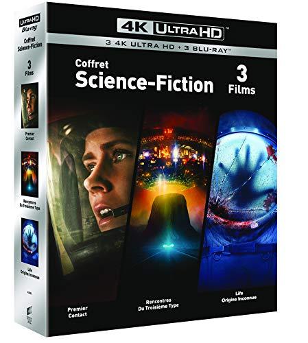 [AmazonFR] 3er Pack 4K UHD (Arrival, Life, Unheimliche Begegnung der dritten Art)