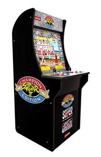 [AmazonUK] Arcade 1 Up Automat Street Fighter 2, ca. 50 x 58 x 128 cm