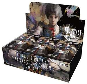 Final Fantasy SQEFFO8B Opus 7 Sammelkarten-Booster-Box