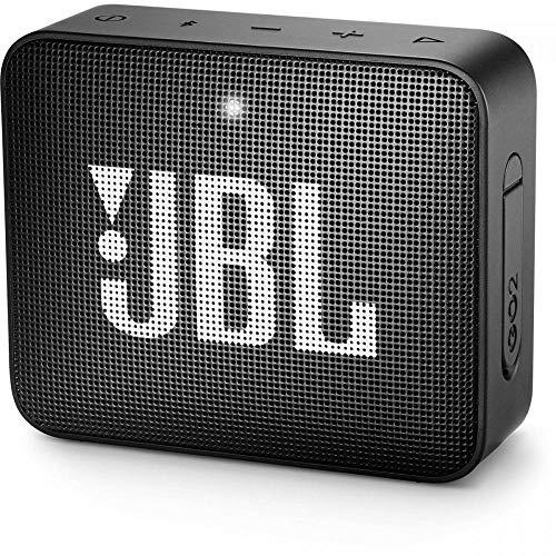 JBL GO 2 Akku-Lautsprecher (Bluetooth 4.1, IPX7, Mikrofon, Aux)