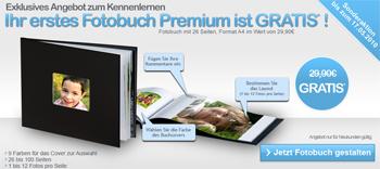 Genial - A4 Premium-Fotobuch mit 26 Seiten für 4,90€ *Update*