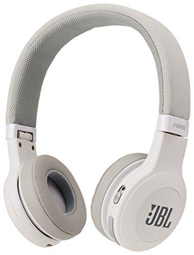 JBL E45BT On-Ear Wireless Headphones White