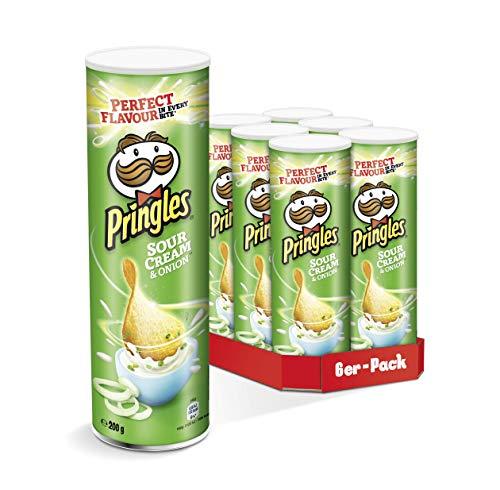 Pringles verschiedene Sorten | 6er Party-Pack (6 x 200g)