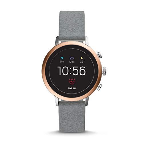 Fossil Q Venture HR rosegold, Damen Smartwatch