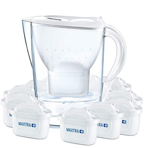 BRITA Wasserfilter Marella weiß inkl. 12 MAXTRA+ Filterkartuschen