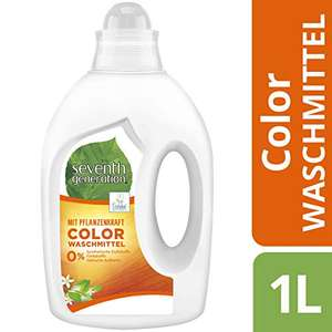 Amazon.de l Seventh Generation Waschmittel Color Fresh Orange & Blossom Scent 20 Wäschen, 1000 ml Plus-Produkt