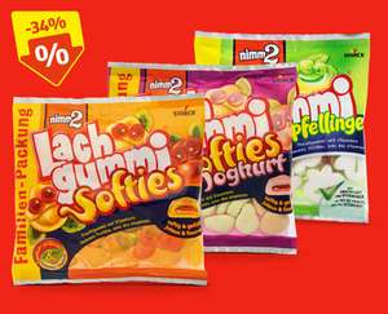 Lachgummi/Softies 390 g/300 g/270 g