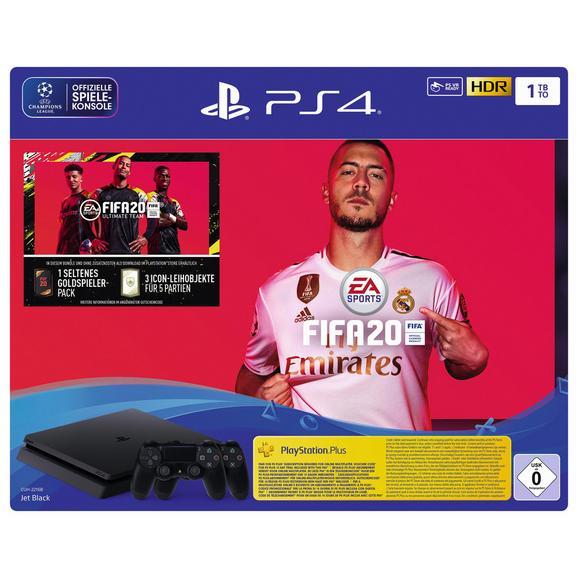 (Händlerdeal) Playstation 4 1TB inkl. FIFA20 + 2 Controller