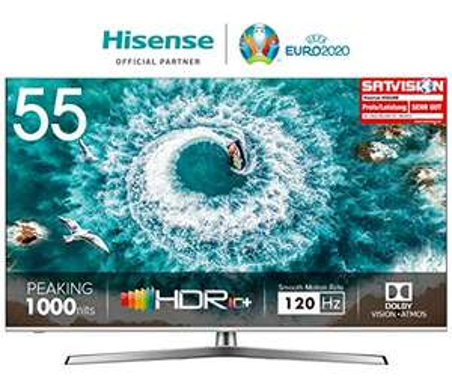 Hisense H55U8B 55 Zoll, 4K, 100hz