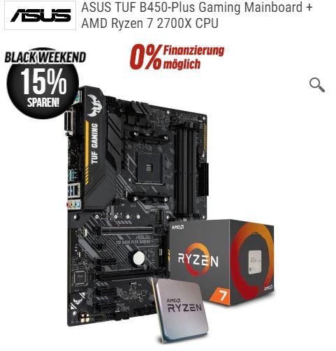 AMD Upgrade Bundle, ASUS TUF B450-Plus Gaming + Ryzen 7 2700X