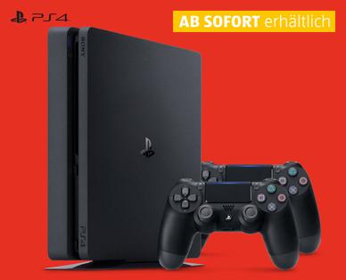 PS4 slim - selber Angebotspreis wie bei amazon ABER mit 2. Controller!!!!! (dafür aber nur 500 GB)
