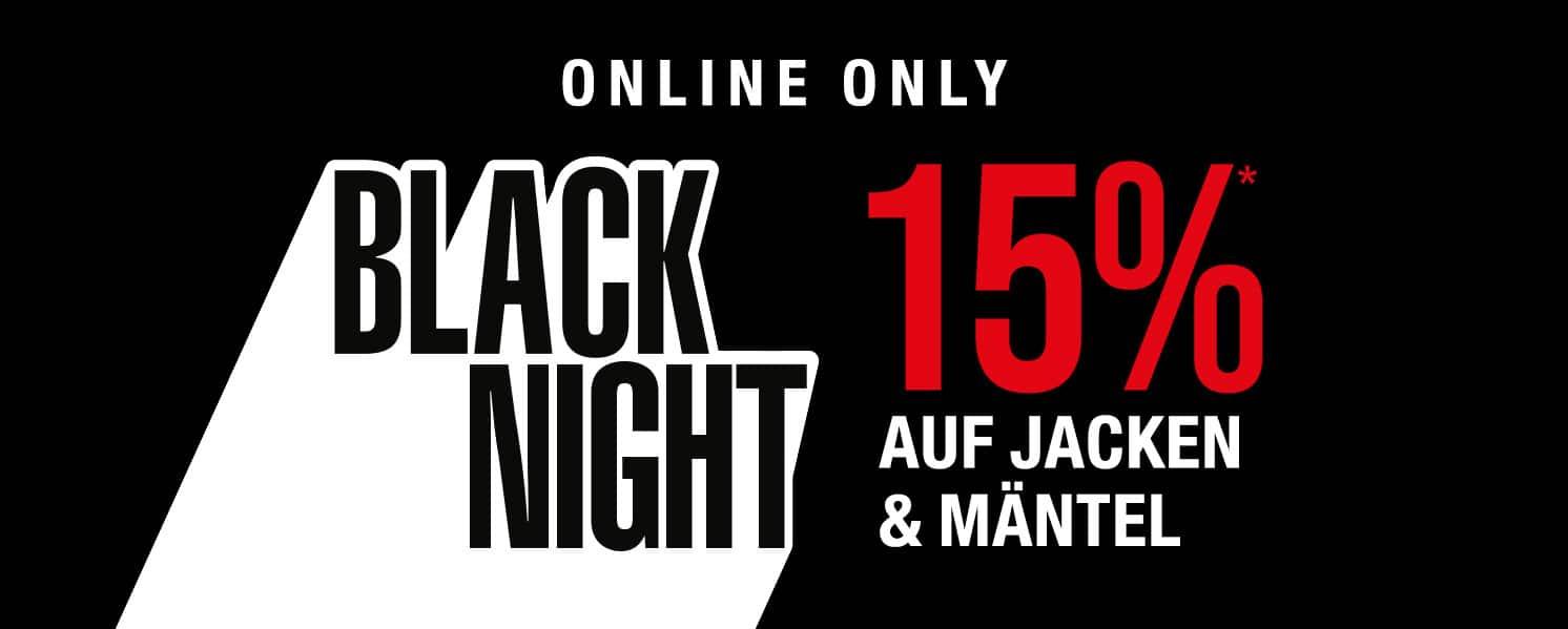 Peek & Cloppenburg 15% auf Jacken & Mäntel