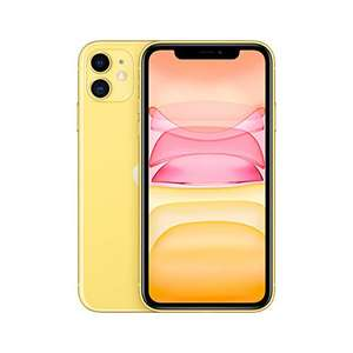 iPhone 11, 64GB, schwarz & gelb