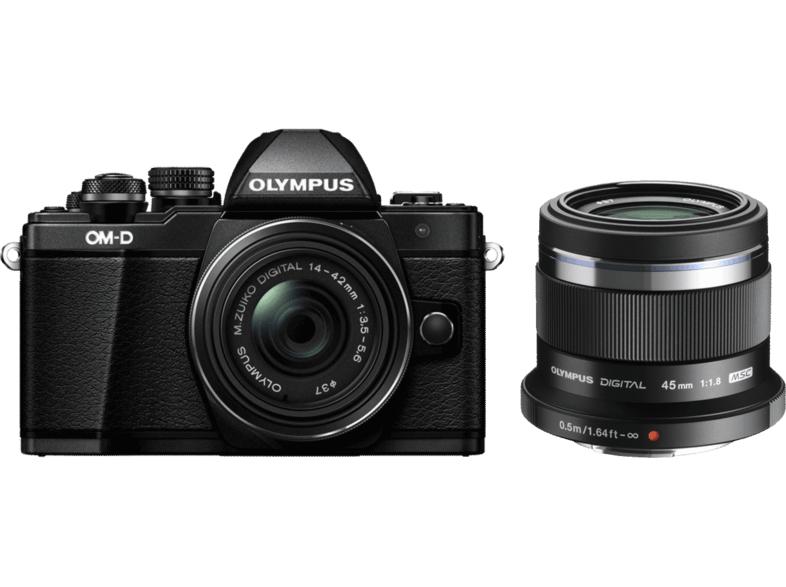 Olympus OM-D E-M10 Mark II + 14-42mm II R + 45mm F1.8