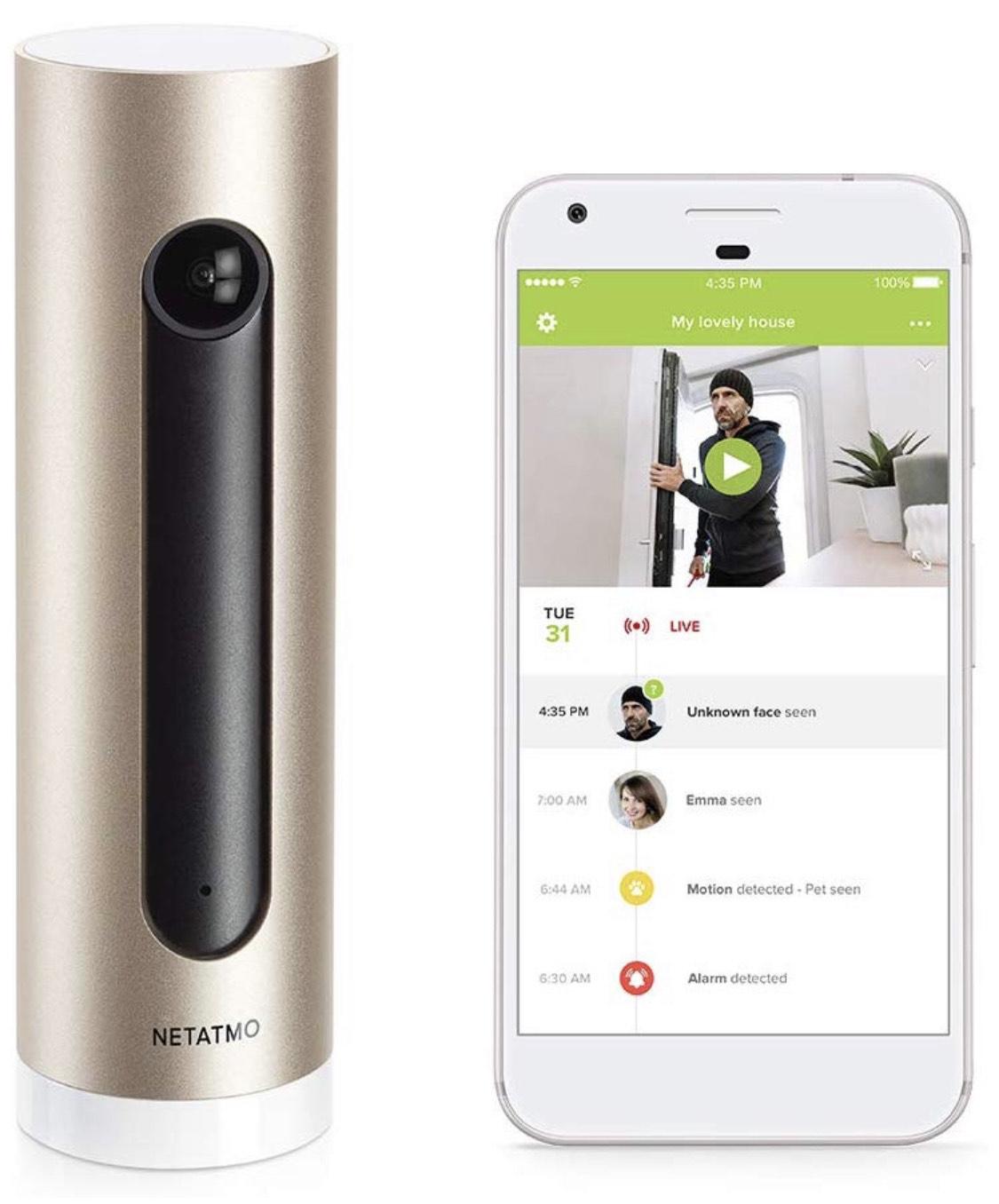 Netatmo Smarte Überwachungskamera