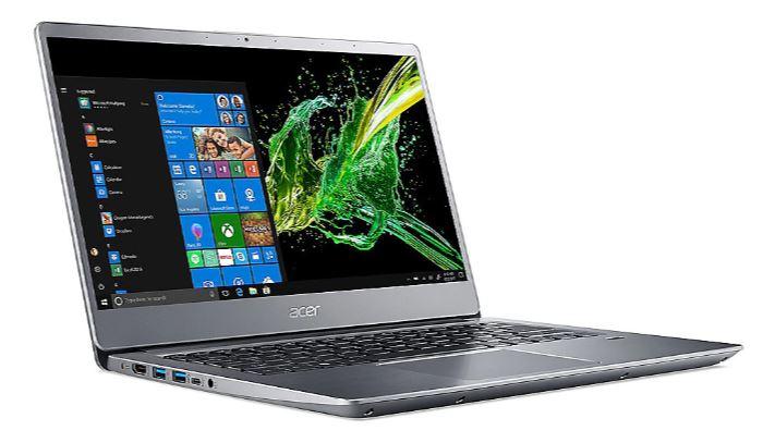 "(Händlerdeal) Acer Swift 3 silber 14"" FHD IPS i5-8265U 8GB/512GB SSD Win10 SF314-56-53MU"