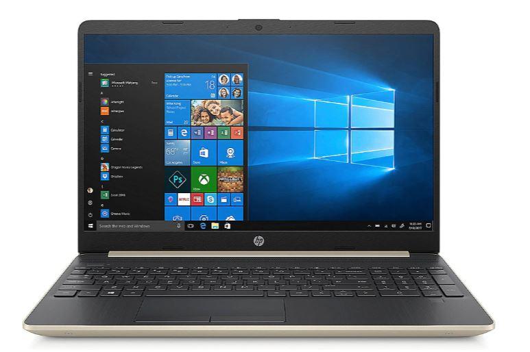 """(Händlerdeal) HP 15 gold 15""""FHD i5-8265U 8GB/256GB SSD Win10 15-dw0415ng"""