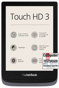PocketBook Touch HD 3, metallic grey (PB632-J-WW)