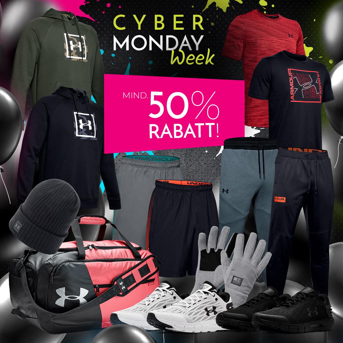 (Händlerdeal) Under Armour Sale - 50% Rabatt und keine VSK! z.B UA Schuh Rogue um € 39,97