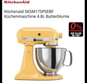 Kitchen Aid Farbe: Butterblume