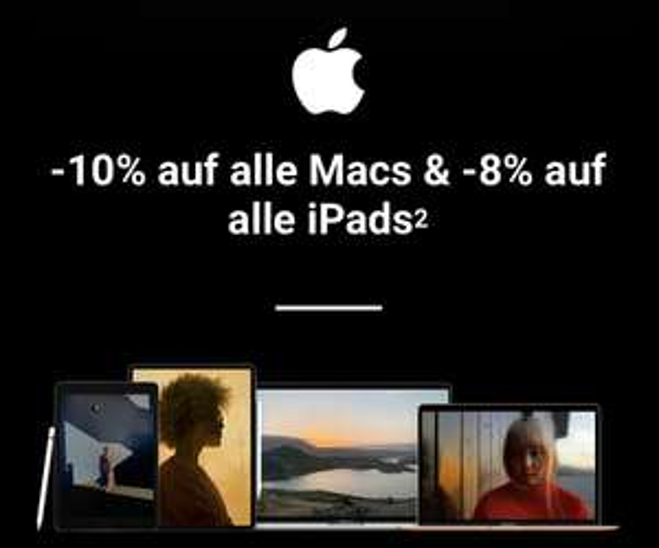 [Apple] -10% auf Alle Macs bei McShark