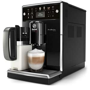 Saeco SM5570/10 PicoBaristo Deluxe Kaffeevollautomat (LED Display, integriertes Milchsystem)