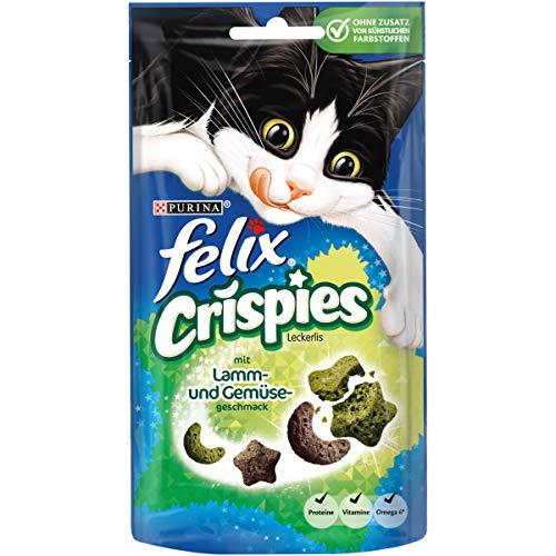 8x Felix Crispies Katzensnack