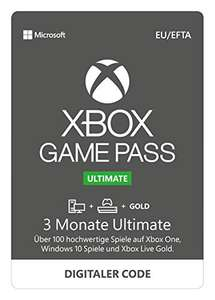[Amazon] Xbox Game Pass Ultimate 3 Monate