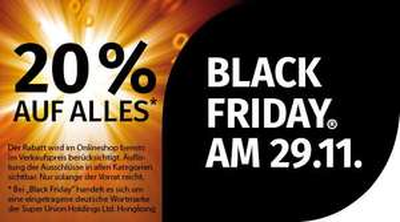 Müller Drogeriemarkt Black Friday: -20% auf Alles*